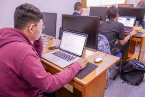 Peserta Pelatihan CEH CHFI di ITCentrum FTI UII