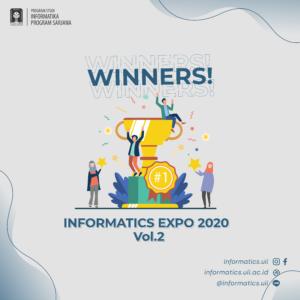 informatics expo 2020 vol. 2 pengumuman